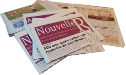 Le journal dans sa version papier